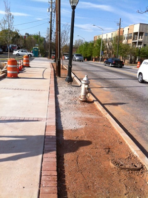 Lowery Boulevard Sidewalk Construction