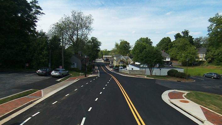 Alexander Street Road Improvements
