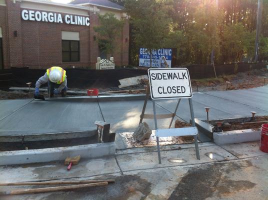 Road Improvements Old Alabama & Jones Bridge