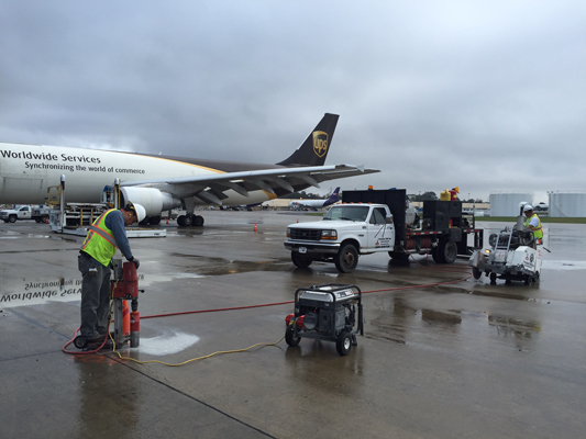 Airfield Pavement Repairs 2018