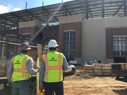 Atlanta Braves Ballpark Site Concrete