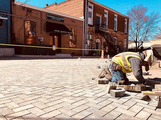 East Alley Pathway Improvements